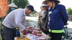 """Ninh Bình: Cận Tết, người dân đổ xô mua thịt """"con sửu"""" ăn, biếu Tết vì lý do bất ngờ này"""