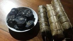 Yên Bái: Độc đáo thứ bánh chưng màu đen nhánh như nhựa đường, nếm 1 miếng thơm nức mùi lá rừng