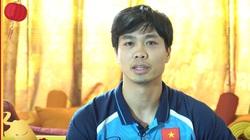 Clip: Thầy Park cùng dàn sao ĐT Việt Nam chúc Tết người hâm mộ