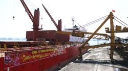 """Quảng Ninh đón tàu """"xông cảng"""", rót hơn 25.000 tấn than trong mùng 1 Tết"""