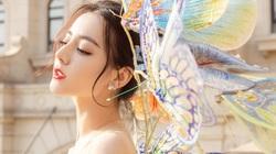 Địch Lệ Nhiệt Ba đẹp không tả xiết trong chương trình đón năm mới