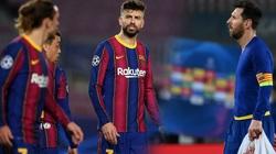 Thua thảm PSG, sao Barcelona nổi nóng, văng tục với nhau