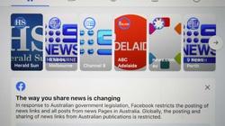 Chính phủ Úc phản đòn, Facebook rơi vào thế yếu