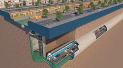 Bất ngờ với đề xuất xây dựng hầm chống ngập kết hợp cao tốc ngầm dọc sông Tô Lịch