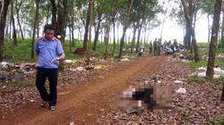 Nữ công nhân 18 tuổi nghi bị sát hại trong lô cao su ở Bình Phước