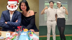 """Bạn trai bí ẩn của hoa khôi bóng chuyền Kim Huệ là """"phi công""""... Hàn Quốc?"""