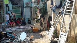 Cận cảnh hiện trường vụ nghi nổ bình gas, 4 căn nhà hư hỏng, người đàn ông bị hất văng