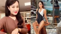 """BTV Hoài Anh """"hack tuổi"""" khó tin, siêu mẫu Hà Anh mặc bikini nóng bỏng"""