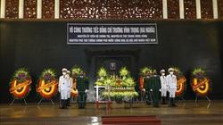 Ảnh: Lễ viếng nguyên Phó Thủ tướng Trương Vĩnh Trọng tại Hà Nội