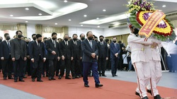 Lễ viếng nguyên Phó Thủ tướng Chính phủ Trương Vĩnh Trọng tại Bến Tre