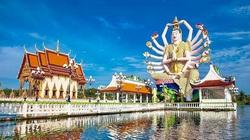Đền Wat Plai Laem – ngôi đền sở hữu pho tượng Phật Bà Quan Âm 18 tay vô cùng độc đáo