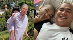 """""""Hoa hậu đông con nhất Việt Nam"""" cạo đầu mặc áo lam, nguyên nhân do đâu?"""