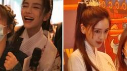 Angela Baby xinh đẹp trong bữa tiệc sinh nhật vắng bóng Huỳnh Hiểu Minh