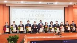 Chủ tịch Hà Nội bổ nhiệm tân Chánh Văn Phòng UBND TP và hàng loạt lãnh đạo Sở, ngành