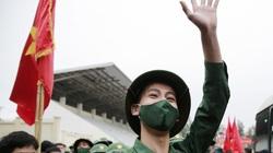 Những khoảnh khắc đẹp trong ngày hội tòng quân của thanh niên Thủ đô