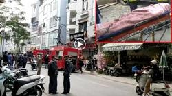 Hiện trường vụ cháy nhà trọ ở Hà Nội khiến 4 sinh viên tử vong
