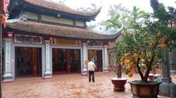 Đền, chùa vắng khách đi lễ dịp cuối năm