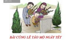 Bài cúng lễ tảo mộ ngày Tết