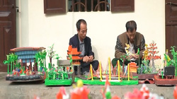Hà Nội: Mãn nhãn các danh lam thắng cảnh Thủ đô qua bàn tay của những nghệ nhân làng tò he