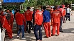 Nghệ An: 180 công nhân Công ty Xi măng Sông Lam đình công