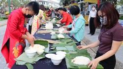 """Đến Champa Island Nha Trang: Trải nghiệm """"Nấu bánh tét - trở về Tết xưa"""""""