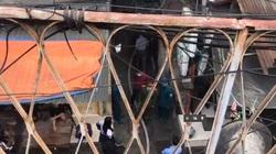 [TRỰC TIẾP] Đang cháy tại phố Gầm Cầu, sát cạnh chợ Đồng Xuân, Hà Nội
