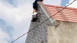 Clip: Thanh niên nghi ngáo đá làm xiếc trên mái nhà rồi nhảy xuống bất tỉnh