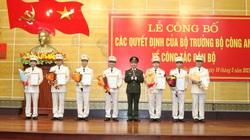 Điều động, bổ nhiệm 7 cán bộ công an Quảng Bình