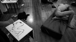 Vẽ tranh khỏa thân: Khi tình yêu nghệ thuật vượt trên nhục cảm thông thường