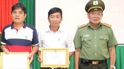 Hai hiệp sĩ đường phố Bình Dương được khen thưởng