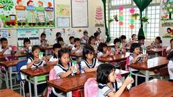 TP.HCM: Chỉ có hơn 50% trẻ mầm non, lớp 1 uống sữa học đường