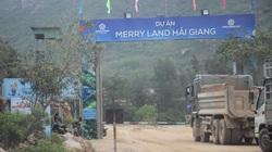 """Bình Định:  Điều chỉnh quy hoạch """"siêu dự án"""" Hải Giang Merry Land"""