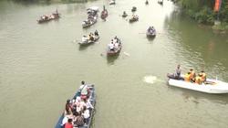 Xử phạt du khách không đeo khẩu trang, tổ chức đánh bạc khi vãn cảnh chùa Hương
