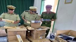 Phú Yên: Thu giữ 10.000 bao thuốc lá nhập lậu đang trên đường tiêu thụ