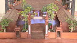 Video: Mê mẩn mô hình đình làng cổ 300 năm giống bản gốc tới từng milimet nghệ nhân U70 mất 5 năm thực hiện