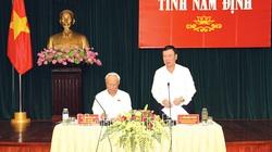 Ông Uông Chu Lưu đề nghị gì khi kiểm tra công tác chuẩn bị bầu cử ở Nam Định?