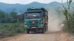 TT-Huế: Dân chặn xe chở đất đá thi công đường cao tốc vì gây ô nhiễm môi trường