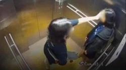 CLIP: Hình ảnh cuối cùng của 2 cô gái trẻ trong thang máy trước khi rơi lầu chung cư ở TP HCM