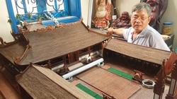 Độc đáo với kiệt tác đình làng bằng gỗ siêu nhỏ