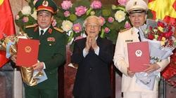 Nhiệm kỳ Chủ tịch nước Nguyễn Phú Trọng: Thăng hàm 2 Đại tướng, 7 Thượng tướng và nhiều sĩ quan cấp cao