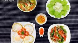 Gợi ý 5 thực đơn bữa tối ngon rẻ, đủ dinh dưỡng không mất nhiều công sức