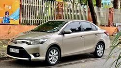 Toyota Vios số sàn chạy 5 vạn, màu vàng cát, rao bán giá khó tin