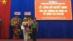 Thiếu tướng Trần Thành Hưng được bổ nhiệm làm hiệu trưởng trường ĐH Cảnh sát