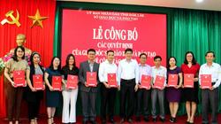 Sở Giáo dục và Đào tạo Đắk Lắk có thay đổi gì về cơ cấu, nhân sự từ đầu tháng 4?