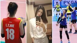 Chân dài Lưu Thị Huệ 1m85: Tập bóng đá, nhưng lại thành tuyển thủ... bóng chuyền
