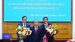 TT-Huế: Công bố quyết định bổ nhiệm Phó Giám đốc Sở KH&ĐT và Sở Y tế