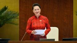 Trình Quốc hội miễn nhiệm 2 chức danh với bà Nguyễn Thị Kim Ngân