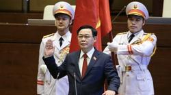 Ảnh: Tân Chủ tịch Quốc hội Vương Đình Huệ tuyên thệ nhậm chức, điều hành phiên họp