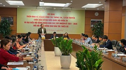 Tích cực, chủ động tuyên truyền về bầu cử Quốc hội khóa XV