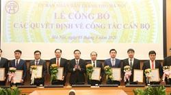 Chủ tịch Hà Nội tiếp tục điều động, bổ nhiệm hàng loạt lãnh đạo sở, ngành